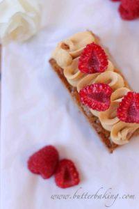 Hazelnut, Raspberry and Salted Caramel Mille Feuille | Butter Baking