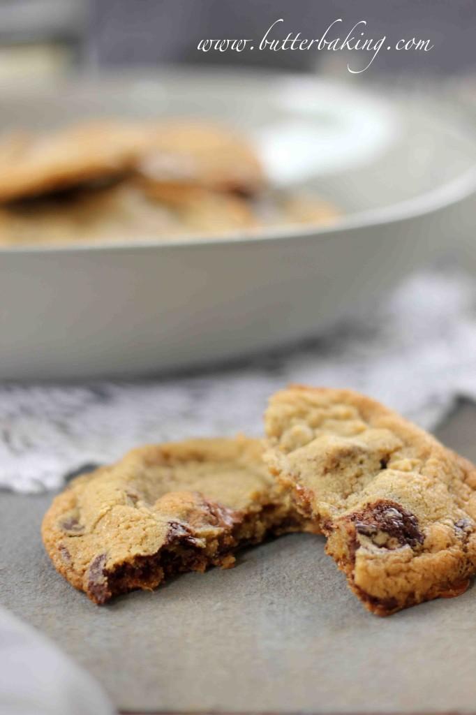 Mars Bar Chocolate Chip Cookies | Butter Baking