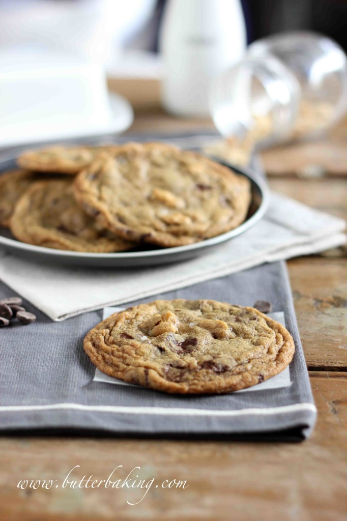 Salted Peanut Chocolate Chip Cookies | Butter Baking