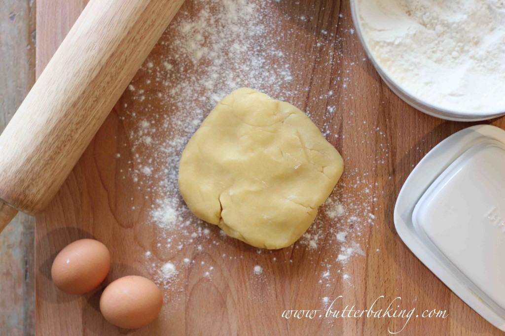 Baked Custard Tart   Butter Baking