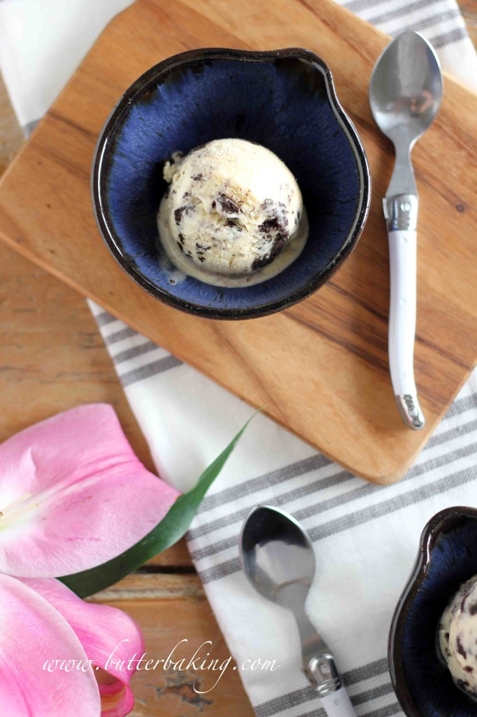 Cookies and Cream Ice Cream | Butter Baking