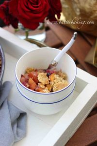 Peach, Blueberry and Apple Crumble | Butter Baking