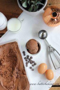 Chocolate Ice Cream | Butter Baking