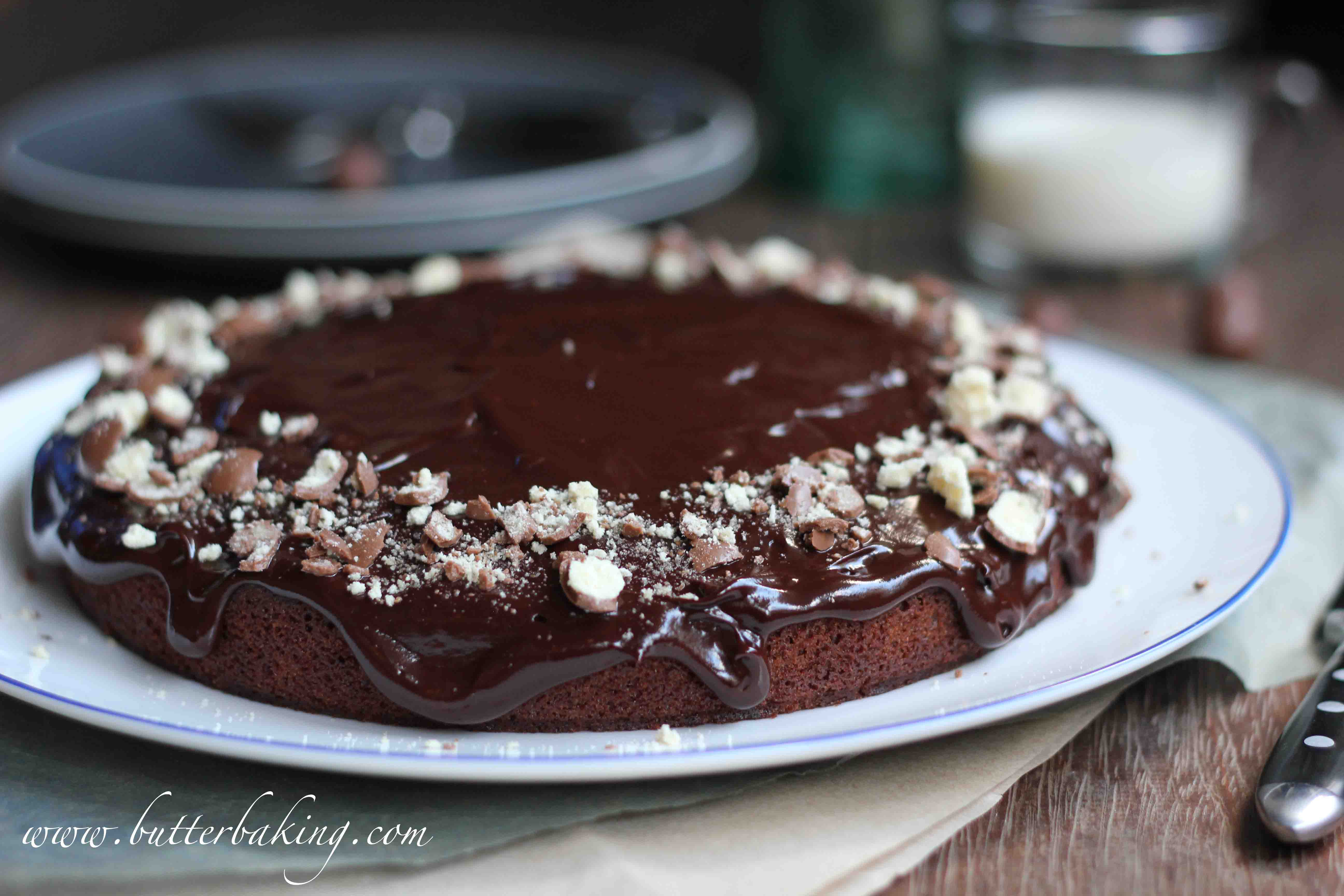 Chocolate Buttermilk Cake | Butter Baking