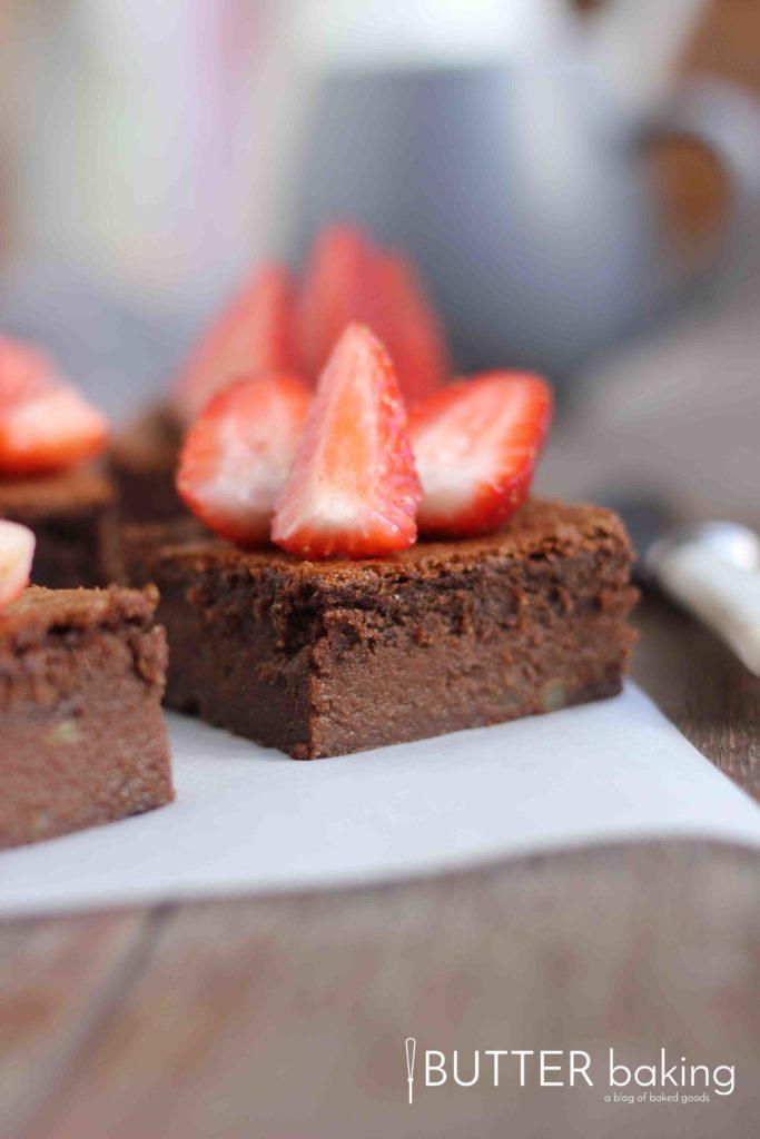 Flourless Chocolate Fudge Brownies | Butter Baking