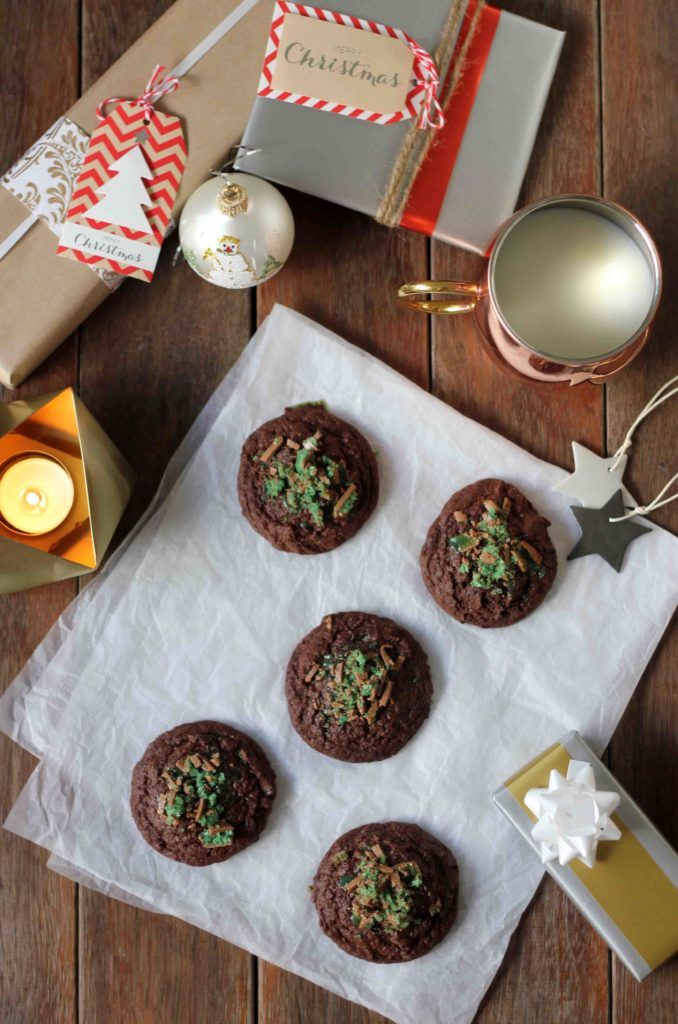 Hot Chocolate Peppermint Cookies | Butter Baking