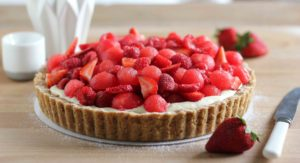 watermelon berry tart