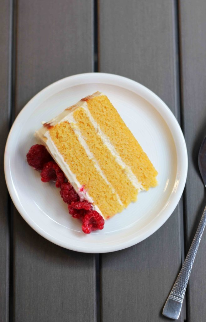 Butterscotch Mascarpone Cream Layer Cake Recipe — Dishmaps