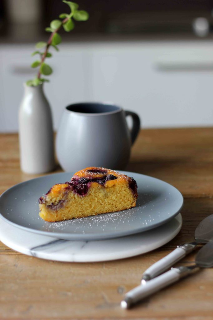 Flourless Mandarin, Almond and Blueberry Cake | Butter Baking