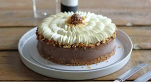 coffee chocolate gateau