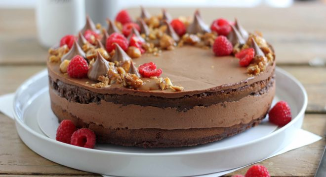 Fudgy Chocolate Mousse Cake | Butter Baking