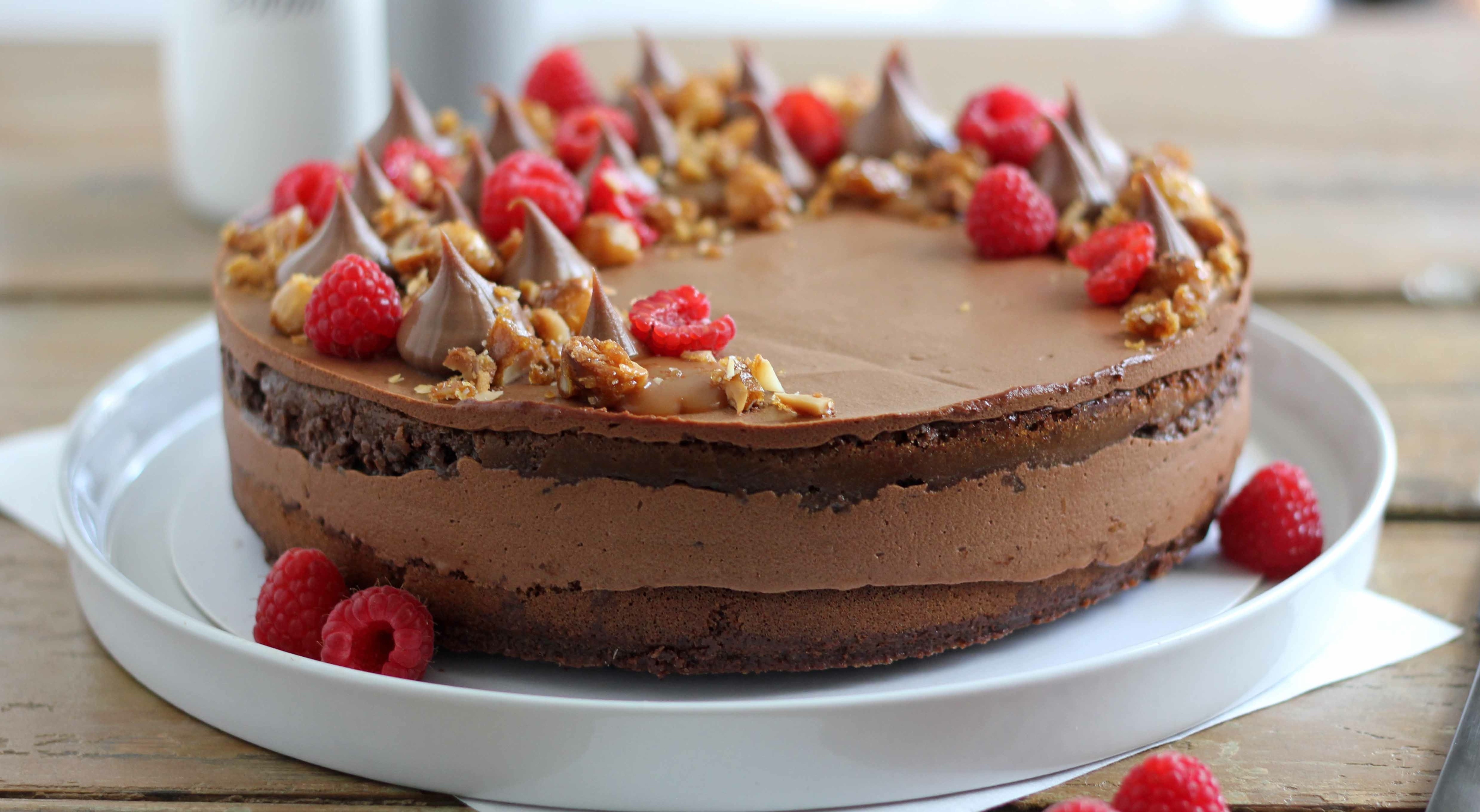 Fudgy Chocolate Mousse Cake   Butter Baking
