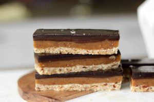 Raw Caramel Slice (GF + V) | Butter Baking