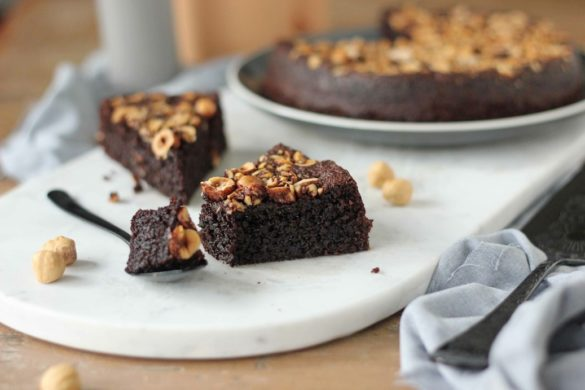 Chocolate Hazelnut Olive Oil Cake | Butter Baking