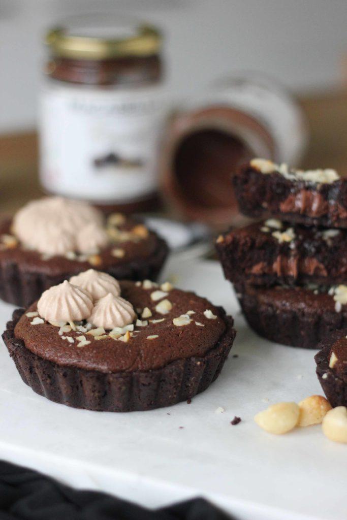 Chocolate Macadamia Mud Pies | Butter Baking