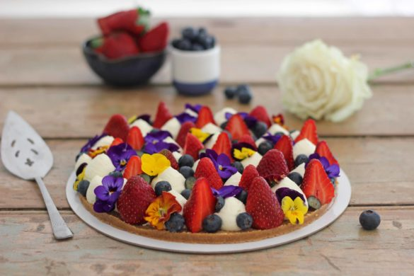 Berry and Cream Tart | Butter Baking