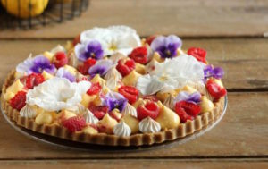 Lemon Meringue Raspberry Tart | Butter Baking