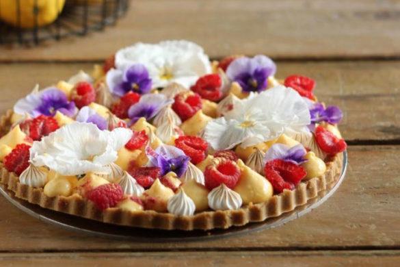 Lemon Meringue Raspberry Tart | Butter Baking