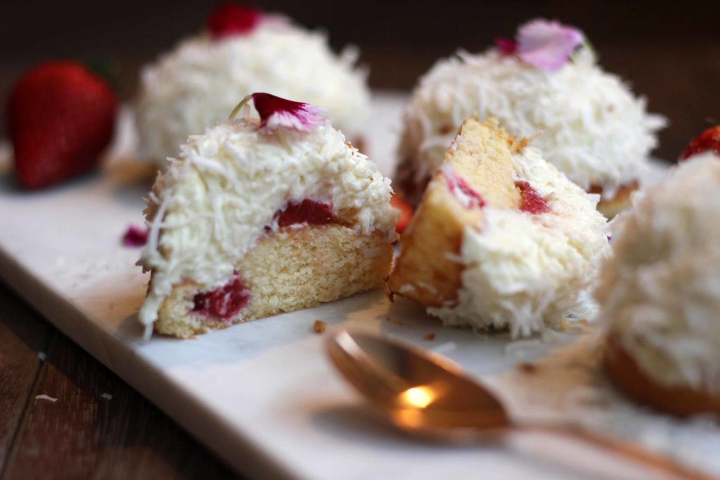 Little Berry Raffaello Cakes | Butter Baking