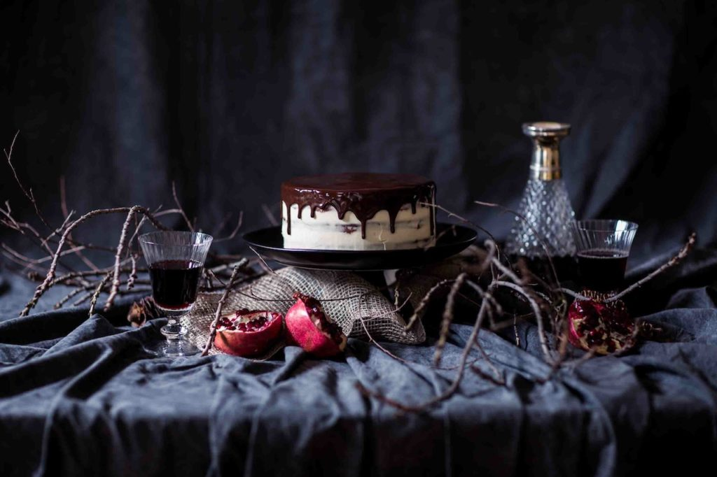 Christmas Chocolate Fruit Cake | Butter Baking