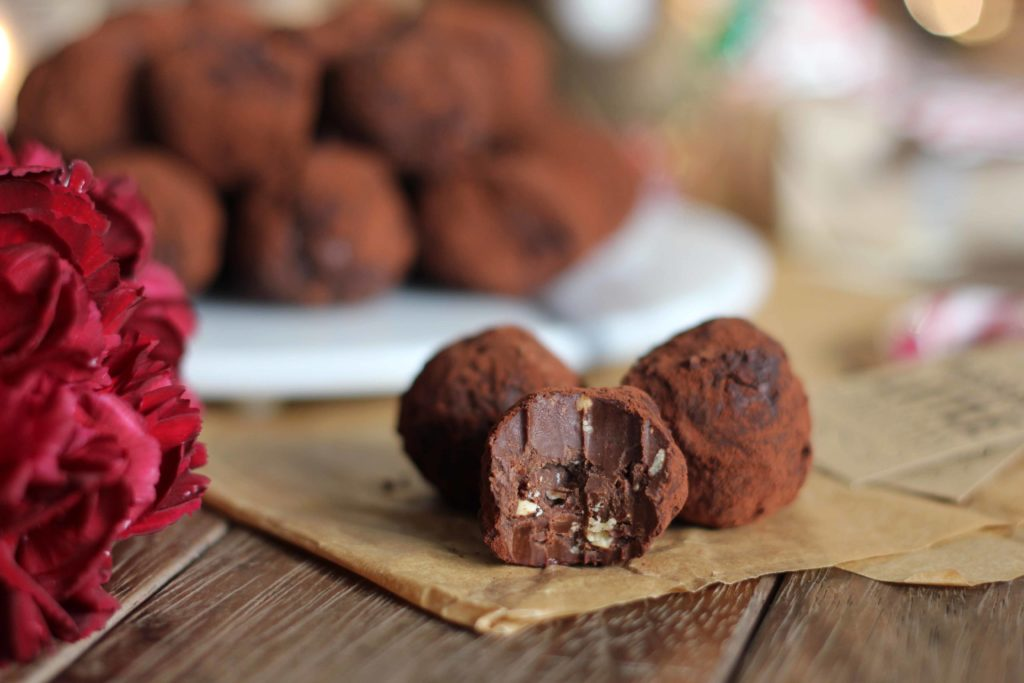 Chocolate Hazelnut Truffles | Butter Baking