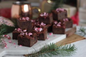 Candy Cane Brownies   Butter Baking