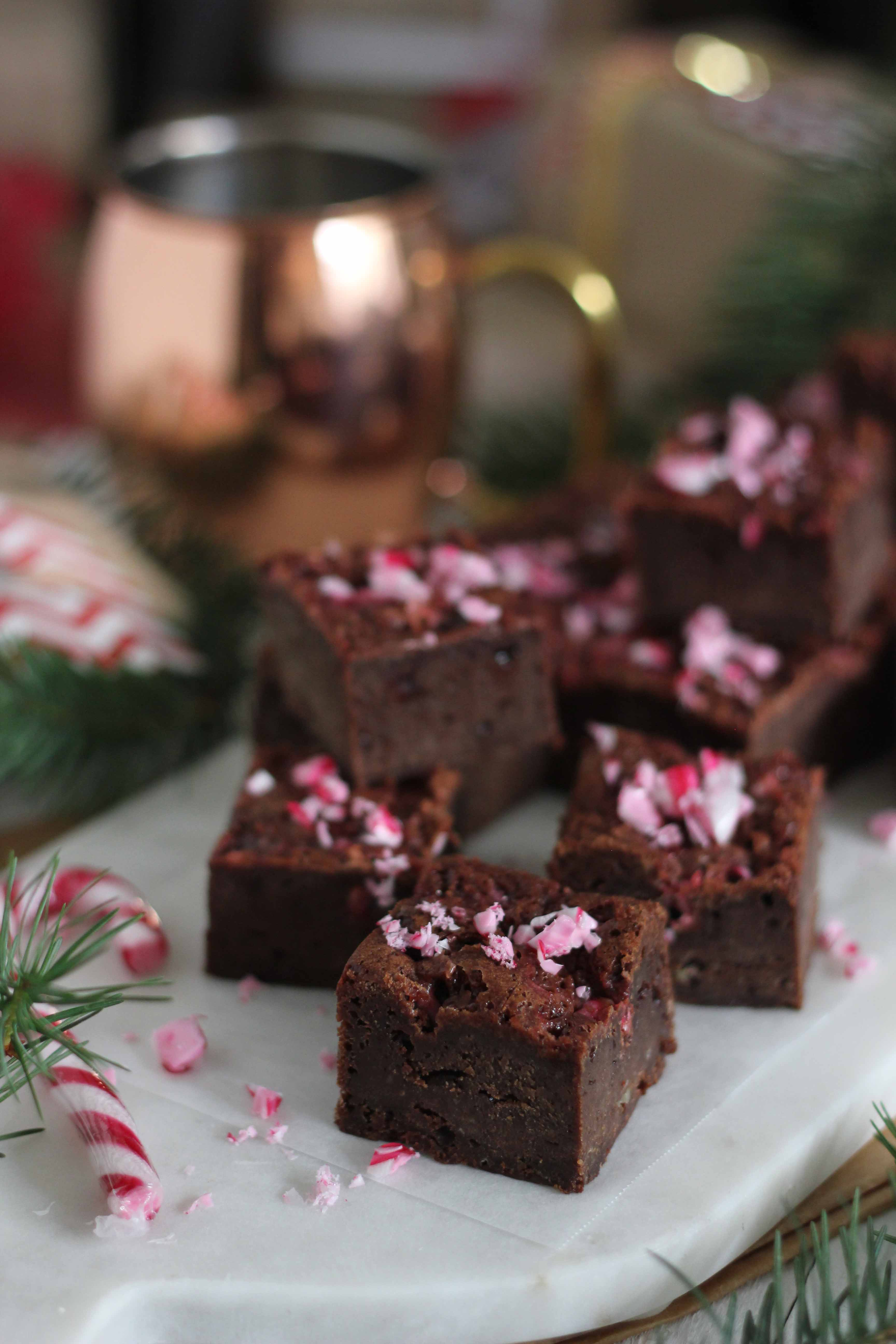 Candy Cane Brownies | Butter Baking