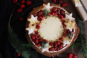 Eggnog Panna Cotta Tart | Butter Baking
